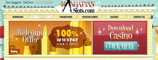 Manhattan slots casino no deposit bonus roulette placard coulissant stanley