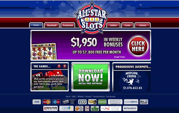 All Star Slots Coupon Code